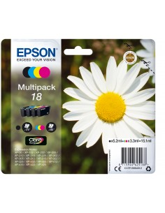 Epson Daisy Multipack 4-colours 18 Claria Home Ink Epson C13T18064022 - 1