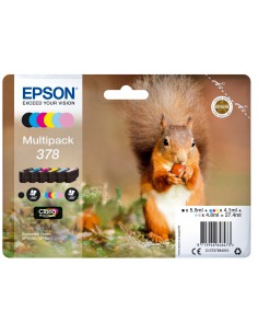 Epson Squirrel Multipack 6-colours 378 Claria Photo HD Ink Epson C13T37884020 - 1