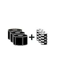 Zebra ZipShipKit3 Valkoinen Itse kiinnittyvä tulostintarra Zebra ZIPSHIPKIT3 - 1