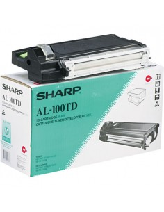 Sharp AL-100TD värikasetti 1 kpl Alkuperäinen Musta Sharp AL-100TD - 1