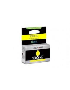 Lexmark 100XL Alkuperäinen Keltainen 1 kpl Lexmark 14N1071E - 1
