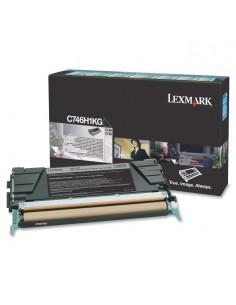 Lexmark C746H1KG värikasetti Alkuperäinen Musta 1 kpl Lexmark C746H1KG - 1