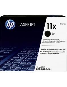 HP 11X Alkuperäinen Musta 1 kpl Hq Q6511X - 1