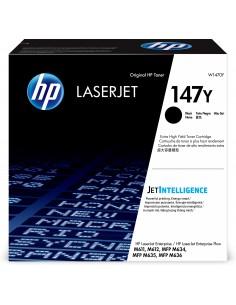 HP Оригінальний картридж надвисокої ємності з чорним тонером 147Y LaserJet Alkuperäinen Musta 1 kpl Hq W1470Y - 1