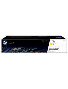 HP 117A Alkuperäinen Keltainen 1 kpl Hq W2072A - 1