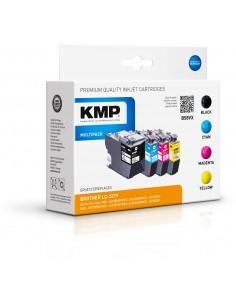 KMP 1537,4005 mustekasetti Compatible Musta, Syaani, Magenta, Keltainen Monipakkaus 4 kpl Kmp Creative Lifestyle Products 1537,4