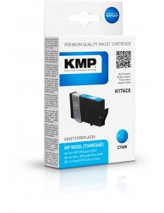 KMP 1757,0003 värikasetti Compatible Syaani 1 kpl Kmp Creative Lifestyle Products 1757,0003 - 1