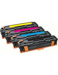 CoreParts QI-HP1013-MULTI värikasetti Alkuperäinen Musta, Syaani, Magenta, Keltainen 4 kpl Coreparts QI-HP1013-MULTI - 1