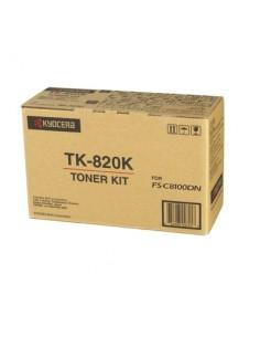 KYOCERA TK-820K Alkuperäinen Musta Kyocera TK-820K - 1