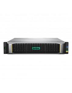 Hewlett Packard Enterprise MSA 2050 SAN levyjärjestelmä Teline ( 2U ) Musta, Hopea Hp Q1J79A - 1