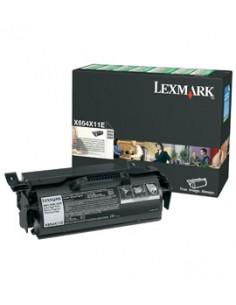 Lexmark X654X11E värikasetti Alkuperäinen Musta Lexmark X654X11E - 1