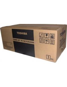 Toshiba TK18 värikasetti Alkuperäinen Musta 1 kpl Toshiba TK18 - 1