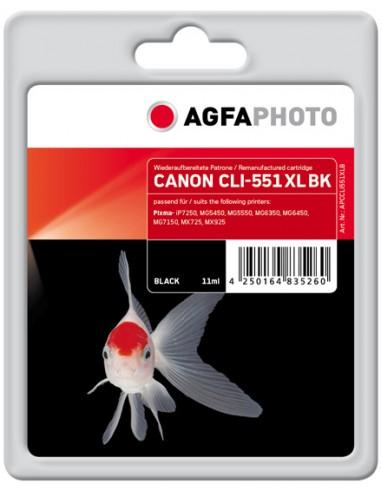 AgfaPhoto APCCLI551XLB mustekasetti Valokuva musta 1 kpl Agfaphoto APCCLI551XLB - 1