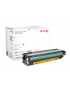 Xerox Yellow . Equivalent to HP CE742A. Compatible with Colour LaserJet CP5225 Xerox 106R02263 - 1