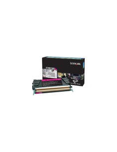 Lexmark X748H1MG toner cartridge 1 pc(s) Original Magenta Lexmark X748H1MG - 1