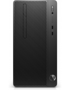 HP 290 G3 9500 Micro Tower 9th gen Intel® Core™ i5 8 GB DDR4-SDRAM 256 SSD Windows 10 Pro PC Black Hp 8VR57EA#ABD - 1