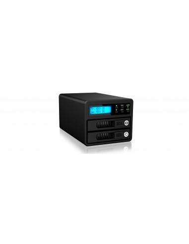 RaidSonic GR3680-SB3 tallennusaseman telakointiasema USB 3.2 Gen 1 (3.1 1) Type-B Musta Raidsonic Technology Gmbh GR3680-SB3 - 1