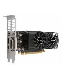 MSI GeForce GTX 1050 TI 4GT LP Msi V809-2404R - 1