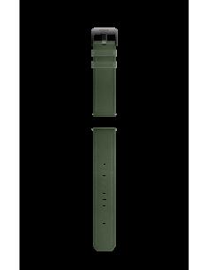 Honor Easyfit 22mm Leather Watch Strap Dark Green Honor 55033148 - 1