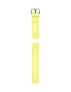 Honor Easyfit 22mm Fluoroelastamer Watch Strap Lemon Yellow Honor 55033155 - 1