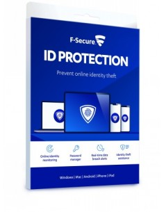 F-secure Id Protection (1 Year 5 Devices) F-secure FCKRBR1N005FI - 1
