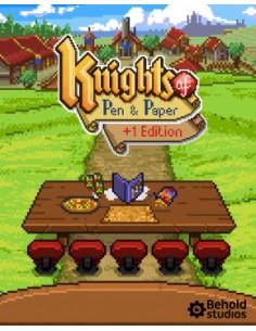 Paradox Interactive Knights of Pen and Paper +1 Edition, PC/Mac/Linux Englanti Paradox Interactive 763512 - 1