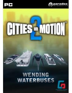 Paradox Interactive Cities in Motion 2: Wending Waterbuses, PC/Mac/Linux Perus Englanti Paradox Interactive 765998 - 1