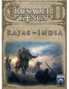 Paradox Interactive Crusader Kings II: Rajas of India, PC/Mac/Linux Videopelin ladattava sisältö (DLC) Englanti Paradox Interact
