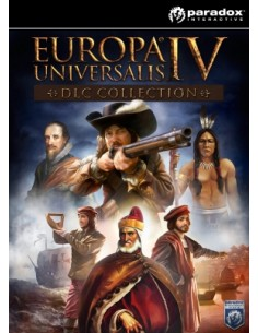 Paradox Interactive EUROPA UNIVERSALIS IV CONQUEST COLLECTION Videopelin ladattava sisältö (DLC) PC/Mac/Linux Englanti Paradox I