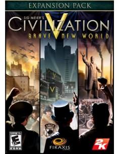 Aspyr Media Sid Meier's Civilization V: Brave New World DLC Videopelin ladattava sisältö (DLC) Mac/PC Englanti Aspyr 763785 - 1