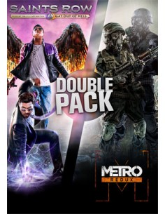 Deep Silver Saints Row Metro Double Pack PC/Mac/Linux Bundle Englanti Deep Silver 805413 - 1