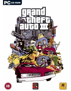 Rockstar Games Grand Theft Auto III, PC Perus Rockstar Games 857642 - 1