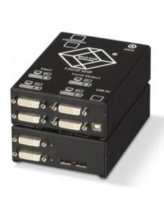 Black Box Blackbox Fibre Extender – Dvi-d, Usb - Quad Dvi, Usb Black Box ACS4422A-R2-SM - 1
