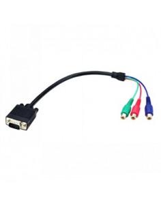 Black Box Blackbox Vga To Component Adapter Cable, 40 Cm ( Black Box AVS-CBL-VG-CM - 1