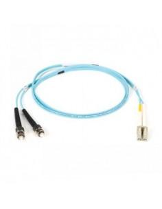 Black Box Blackbox Om3 Patch Cable 50µm (lz0h) - Aqua, Mu – Sc Black Box EFE360-001M-AQ - 1