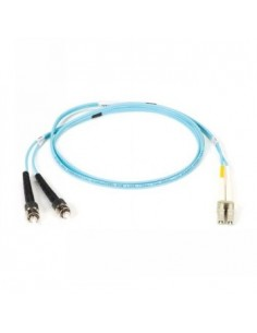 Black Box Blackbox Om3 Patch Cable 50µm (lz0h) - Aqua, Mu – Sc Black Box EFE360-005M-AQ - 1