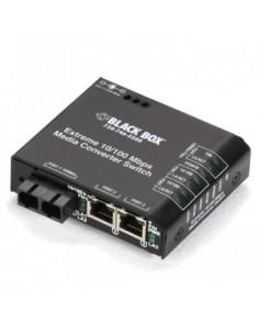 Black Box Blackbox Media Converter Switches - Multimode, Sc, 12 Black Box LBH100A-P-SC-12 - 1