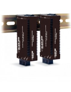 Black Box Blackbox 10-100 Mp Wdm Converter - (1) 10/100 Mbps Rj45, Black Box LIC055A-R2 - 1