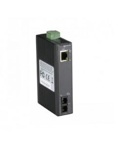 Black Box Blackbox Economy Din Rail 10-100 Media Converter 1p - Black Box LMC270A-SM-20K-SC - 1