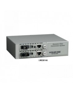 Black Box Blackbox Dynamic Fibre Conversion System: 2-slot Power Black Box LMC3014A - 1