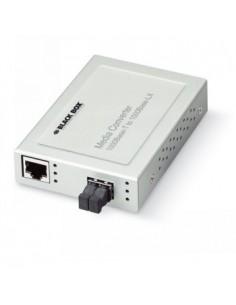 Black Box Blackbox Xs 1000 Converter - Singlemode, (1) 1000 Mbps Black Box LMCS212AE-SC10-R2 - 1