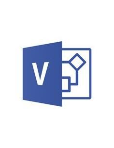 Microsoft Visio Std 2019 Win Pkc Swedish Medialess Sw Microsoft D86-05845 - 1