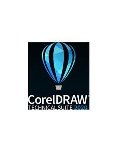 Corel Upg Draw Tech Suite 2020 Lics Ent Incl 1y Sure Mnt 51-250 I Corel LCCDTS2020ENTUG2 - 1