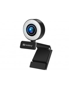 Sandberg 134-21 verkkokamera 2 MP 1920 x 1080 pikseliä USB 2.0 Musta Sandberg 134-21 - 1