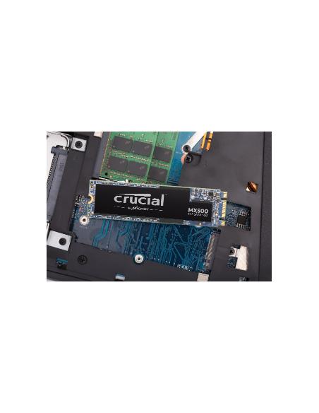 Crucial MX500 M.2 500 GB Serial ATA III QLC 3D NAND Micron CT500MX500SSD4T - 3