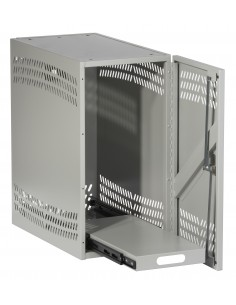 Black Box Blackbox Cpu Security Cabinet - Without Casters, Light Black Box RM194A-R2 - 1
