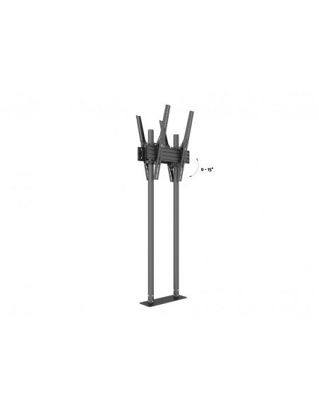 "Multibrackets M Dual Pole Floormount Pro B2B 65""-90"" Multibrackets 7350073738977 - 7"