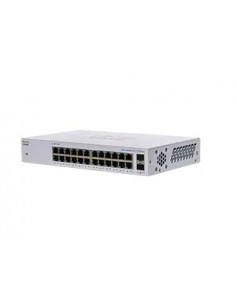 Cisco CBS110 Unmanaged L2 Gigabit Ethernet (10/100/1000) 1U Grey Cisco CBS110-24T-EU - 1