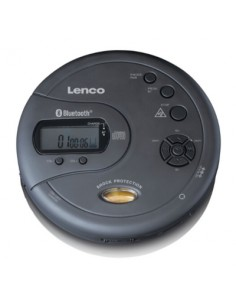 Lenco CD-300 MP3-spelare Svart Lenco CD-300SCHWARZ - 1