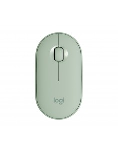 Logitech Pebble M350 Wireless Mouse Eucalyptus Logitech 910-005720 - 1